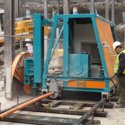 Automated Concrete Cutting
